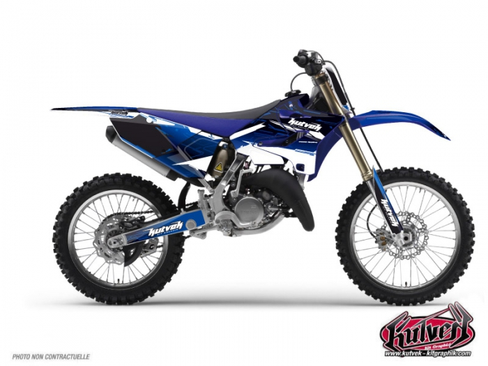 Yamaha 250 YZ Dirt Bike Slider Graphic Kit