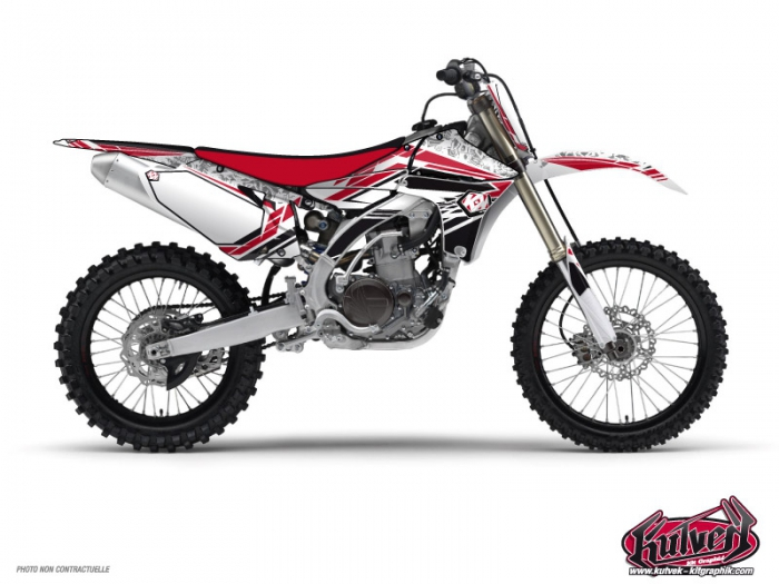 Kit Déco Moto Cross Spirit Yamaha 250 YZ Rouge