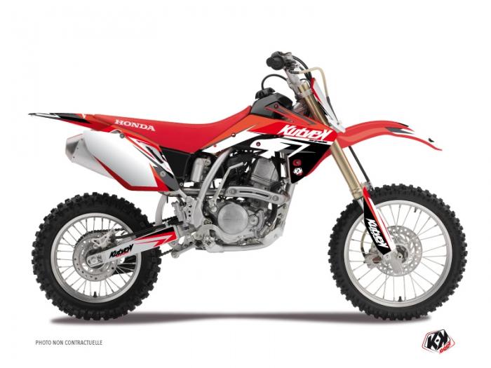 kit d co moto cross stage honda 125 cr rouge kutvek kit graphik. Black Bedroom Furniture Sets. Home Design Ideas