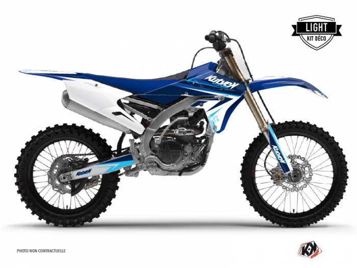 Yamaha 450 YZF Dirt Bike Stage Graphic Kit Blue LIGHT