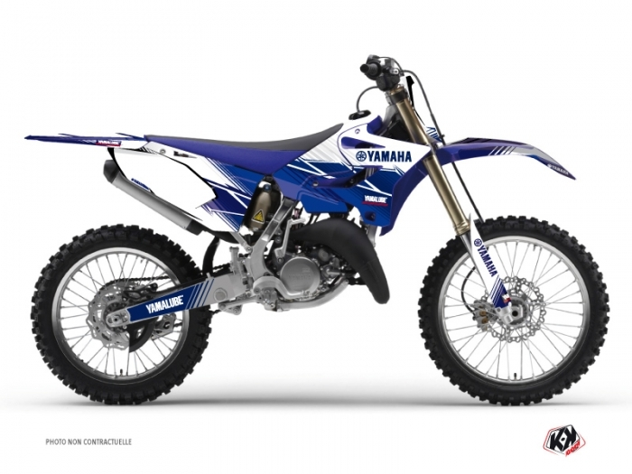 Yamaha 250 YZ Dirt Bike Stripe Graphic Kit Night Blue