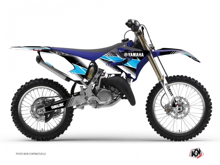 Kit Déco Moto Cross Stripe Yamaha 250 YZ Noir