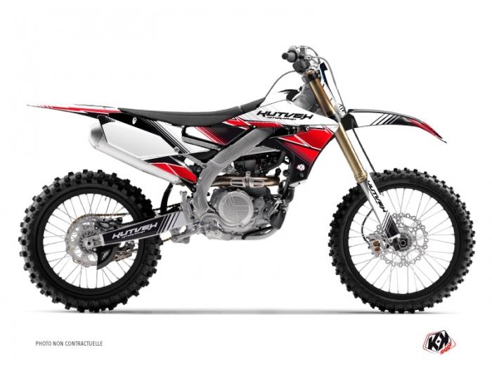 Yamaha 450 YZF Dirt Bike Stripe Graphic Kit Red