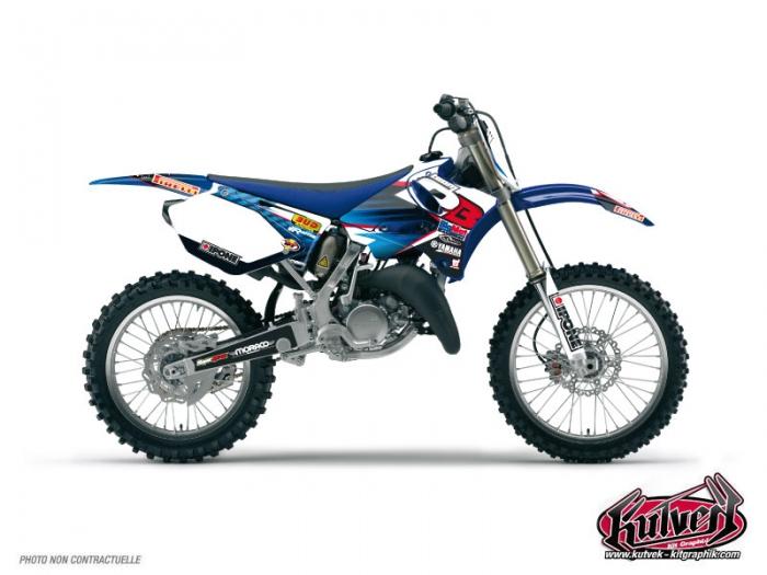 Yamaha 125 YZ Dirt Bike Replica Team 2b Graphic Kit 2012