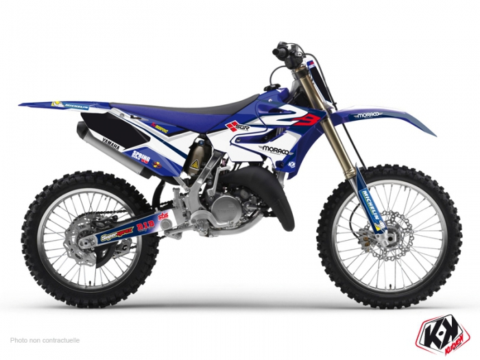 Yamaha 125 YZ Dirt Bike Replica Team 2b Graphic Kit 2015