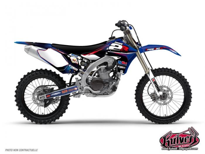 Yamaha 450 YZF Dirt Bike Replica Team 2b Graphic Kit 2011