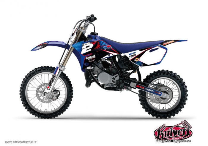 Kit Déco Moto Cross Replica Team 2b Yamaha 85 YZ 2011