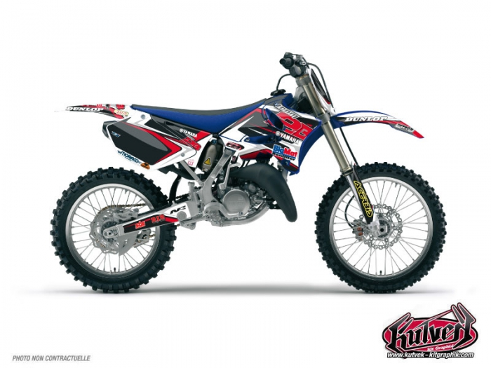 Kit Déco Moto Cross Replica Team 2b Yamaha 125 YZ Maxime DESPRES 2010
