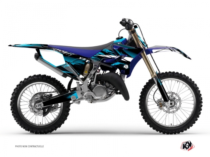 Kit Déco Moto Cross Techno Yamaha 250 YZ Bleu