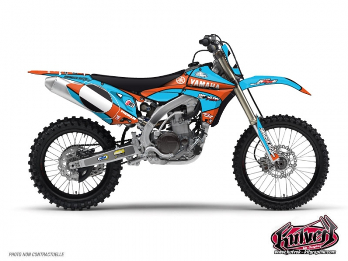 Yamaha 450 YZF Dirt Bike Replica Thomas Allier Graphic Kit 2011