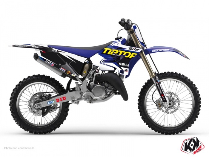 Yamaha 250 YZ Dirt Bike Replica Team Tip Top Graphic Kit 2015