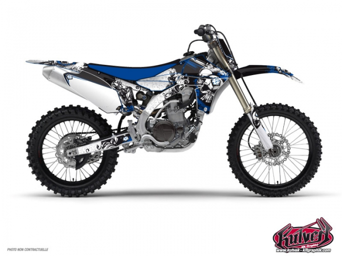 Yamaha 250 YZ Dirt Bike Trash Graphic Kit