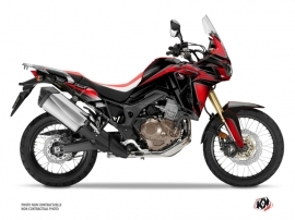 Kit Déco Moto fighter Honda Africa Twin CRF 1000 L Rouge Noir