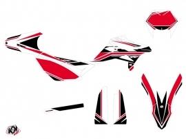 Kit Déco 50cc FIRENZE Beta RR 50 Enduro Blanc Rouge Noir