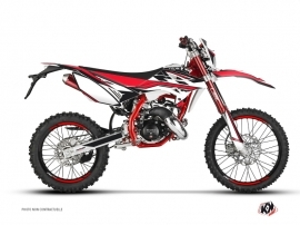 Beta RR 50 Enduro 50cc FIRENZE Graphic Kit Black Red White