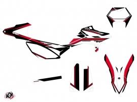 Kit Déco 50cc FIRENZE Beta RR 50 Enduro Noir Rouge Blanc
