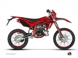 Beta RR 50 Enduro 50cc FIRENZE Graphic Kit Red Black
