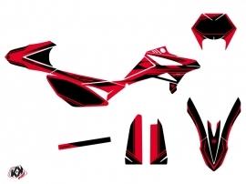 Kit Déco 50cc FIRENZE Beta RR 50 Enduro Rouge Noir