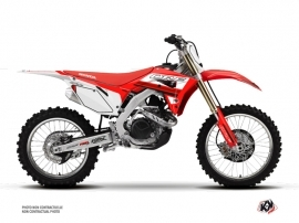 Kit Déco Moto Cross First Honda 250 CRF Rouge