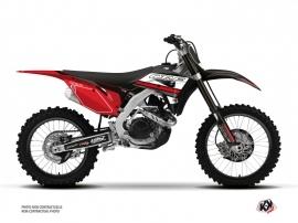 Honda 450 CRF Dirt Bike First Graphic Kit Black