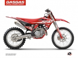 GASGAS MC 125 Dirt Bike Flash Graphic Kit Black