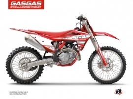 Kit Déco Moto Cross Flash GASGAS MCF 450 Rouge