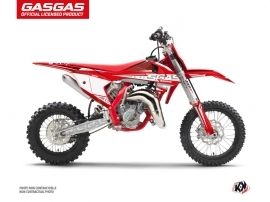GASGAS MC 65 Dirt Bike Flash Graphic Kit Red