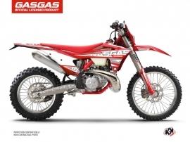 Kit Déco Moto Cross Flash GASGAS EC Rouge