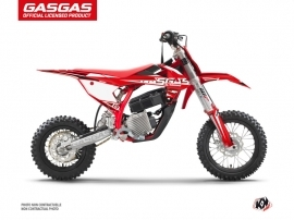 GASGAS MC-E 5 Dirt Bike Flash Graphic Kit Black
