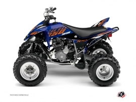 Yamaha 250 Raptor ATV Flow Graphic Kit Orange