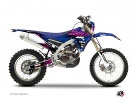 Kit Déco Moto Cross Flow Yamaha 250 WRF Rose
