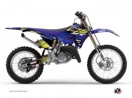 Yamaha 250 YZ Dirt Bike Flow Graphic Kit Yellow