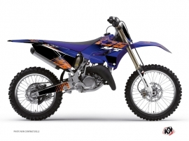 Yamaha 250 YZ Dirt Bike Flow Graphic Kit Orange