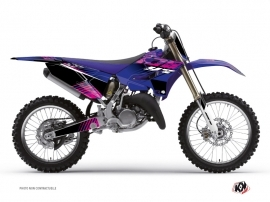 Yamaha 250 YZ Dirt Bike Flow Graphic Kit Pink