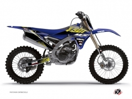 Kit Déco Moto Cross Flow Yamaha 250 YZF Jaune