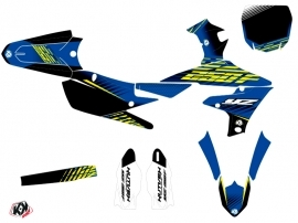 Kit Déco Moto Cross Flow Yamaha 250 YZF Jaune