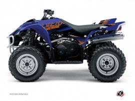 Yamaha 350-450 Wolverine ATV Flow Graphic Kit Orange
