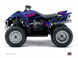 Yamaha 350-450 Wolverine ATV Flow Graphic Kit Pink