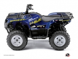 Kit Déco Quad Flow Yamaha 350 Grizzly Jaune