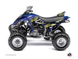 Kit Déco Quad Flow Yamaha 350 Raptor Jaune