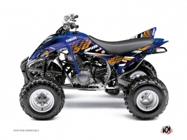 Kit Déco Quad Flow Yamaha 350 Raptor Orange