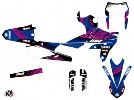 Yamaha 450 WRF Dirt Bike Flow Graphic Kit Pink