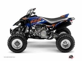 Yamaha 450 YFZ ATV Flow Graphic Kit Orange