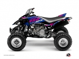 Yamaha 450 YFZ ATV Flow Graphic Kit Pink
