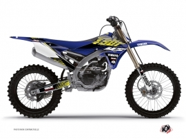 Kit Déco Moto Cross Flow Yamaha 450 YZF Jaune