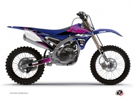 Kit Déco Moto Cross Flow Yamaha 450 YZF Rose