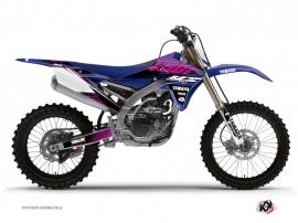 Kit Déco Moto Cross FLOW Yamaha 450 YZF Rose