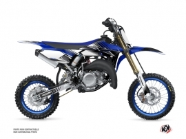 Kit Déco Moto Cross Stripe Yamaha 65 YZ Bleu