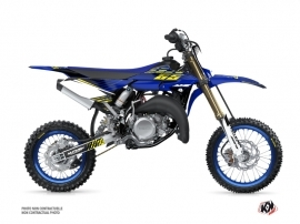Yamaha 65 YZ Dirt Bike Flow Graphic Kit Yellow