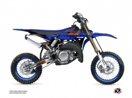Kit Déco Moto Cross Flow Yamaha 65 YZ Orange
